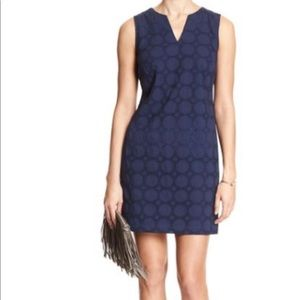 Banana Republic blue eyelet dress size 2
